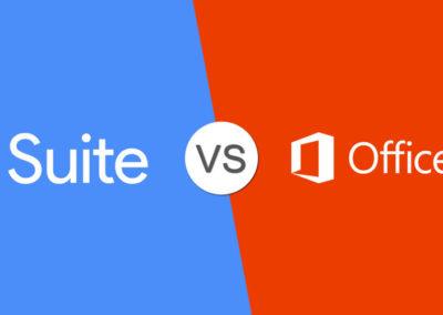 G Suite Vs. Office 365