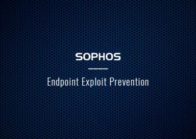 Sophos Endpoint Exploit Prevention