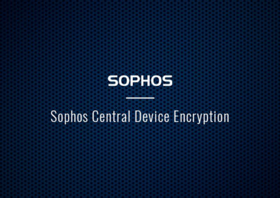 Sophos Central Device Encryption