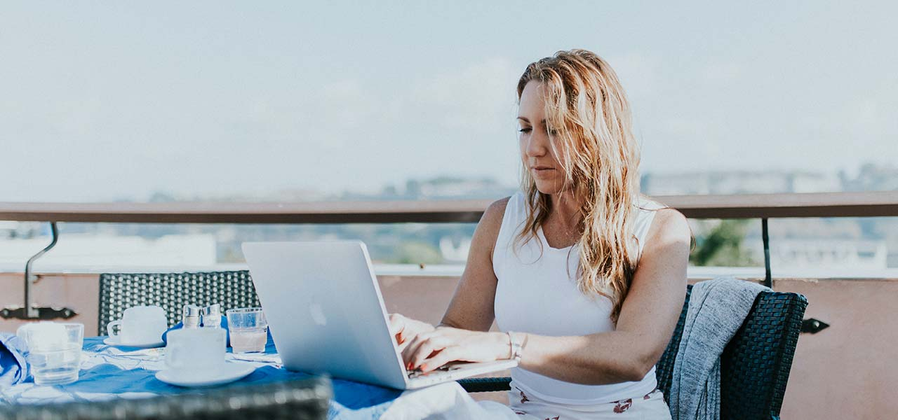 Is work from patio the new work from home?
